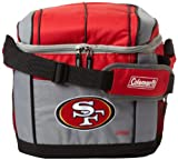 NFL San Francisco 49ers 24 Can Soft Sided Carry Coleman Cooler