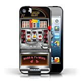 STUFF4 Phone Case Cover for Apple iPhone 55S Machine Design Slot Machine Collection
