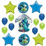 Anagram International HX Monsters University Group Party Balloons, Multicolor