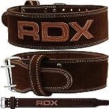 Authentique RDX cuir Nubuck Weight Lifting Puissance Ceinture Retour Strap Gym formation Dip