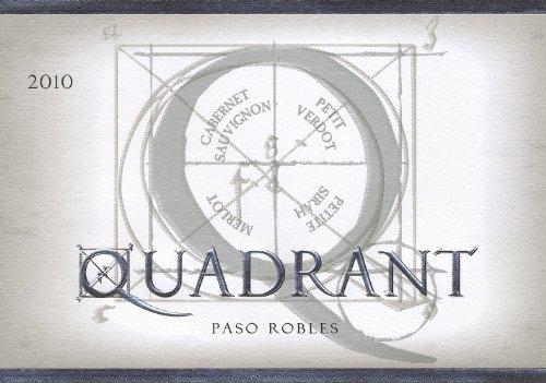 2010 Quadrant Platinum Bordeaux Blend Paso Robles 750 Ml