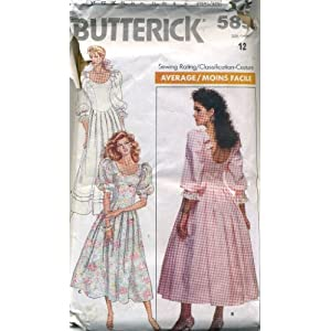 Butterick Sewing Pattern 4441 Girls Size 12-16 Formal Confirmation
