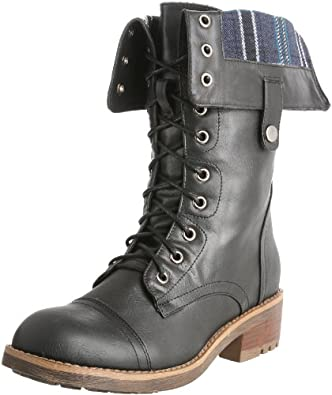 Wanted Shoes Women's Bangup Boot,Black,7.5 M US