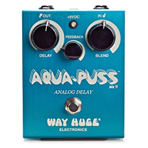 Great deal on the Way Huge Aqua Puss MkII Analog Delay at Amazon