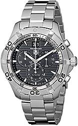 TAG Heuer Men's CAF101E.BA0821 Aquaracer Black Dial Watch
