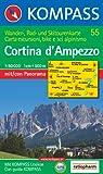 echange, troc Cartes Kompass - Carte touristique : Cortina d' Ampezzo