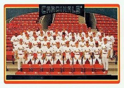 2006 Topps Baseball Card # 608 St Louis Cardinals St. Louis Cardinals - Team Card