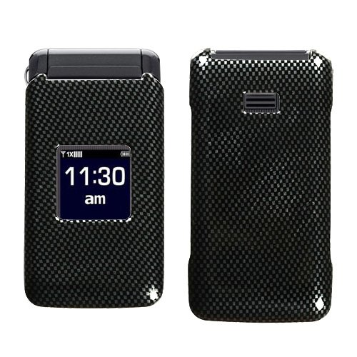 Fits Samsung U320 Haven Hard Plastic Snap On Cover Carbon Fiber Alltel, Cricket, Us Cellular, Verizon