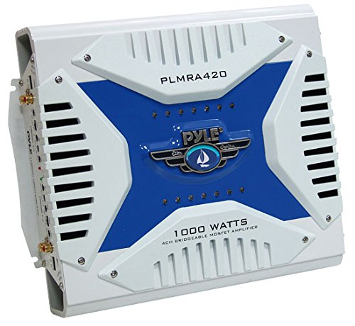 PYLE PLMRA420 4-Channel 1,000-Watt Waterproof Marine Bridgeable MOSFET Amplifier (Daewoo Over The Range compare prices)