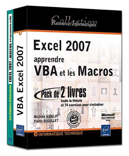 apprendre vba excel 2007 pdf