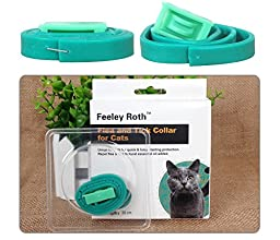 Natural Essential Oils Flea&Tick Collar For Dogs And Cats (For Cats)