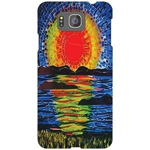 Samsung Galaxy Alpha G850 Back Cover - (Printland)