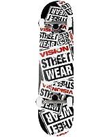 Vision Story Collage Logo Skateboard