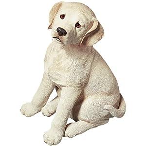 Amazon.com - Sandicast Life Size Yellow Labrador Retriever Puppy