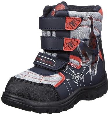 Spiderman Snow boots SF325247, Jungen Stiefel, Blau (NA/SI/LNA/RE 011), EU 25