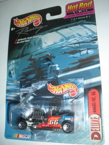 Hot Wheels Racing Deluxe Kmart/rt. 66 Hot Rod Series Nascar - 1