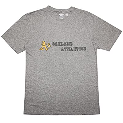 BIG & TALL Mens OAKLAND ATHLETICS Athletic Cotton T-Shirt (Vintage Look)