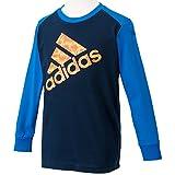 (アディダス)adidas KIDS TCOS CLIMA LITE COTTON グラフィック ロングスリーブ Tシャツ