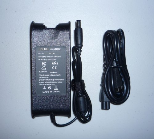 Bluu Brand name Replacement Notebook Ac Dc Power Adapter for Dell Latitude Laptop Computer Models D610 D620 D630 D630c D631 D631n E4200 E4300 E5400 E5500 E6400 E6500 X1 X300 XFR D630 Battery Charger