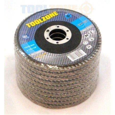 trade-quality-115mm-4-1-2-inch-40-grit-sanding-flap-disc-12-pack-ab010