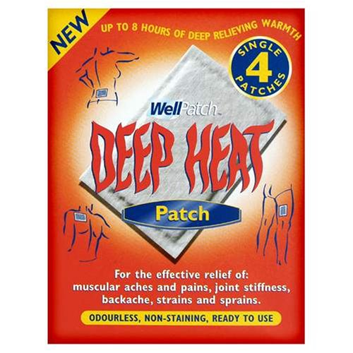 Mentholatum Deep Heat patch 4