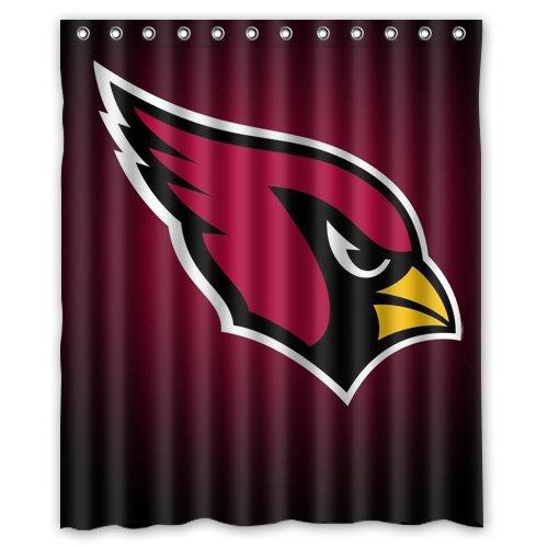 Cardinals Shower Curtain, Arizona Cardinals Shower Curtain ...
