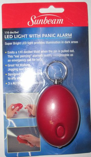 Sunbeam LED Light with Panic Alarm