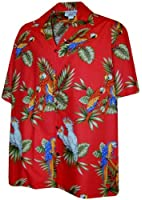 Pacific Legend Parrot Hawaiian Shirt