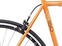 2015 Viking Rio Flat Bar Single Speed Fixie Fixed Gear Bike Orange from Avocet