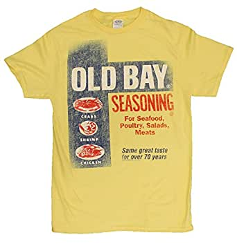 Official licensed old bay seafood seasoning for South bay t shirts