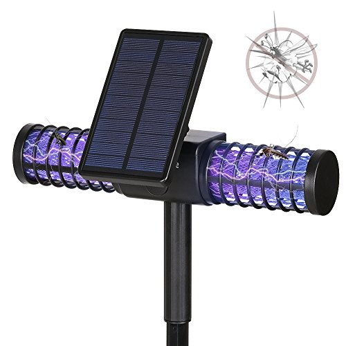 Mosquito Killer Lamp,Homecube Solar LED Bug Zapper Light,Insect Killer, Fly  Zapper