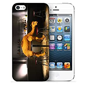 Snoogg Small Camel Designer Protective Back Case Cover For IPHONE 5