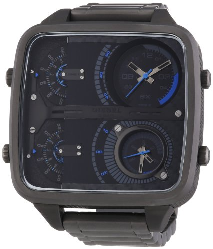 Diesel DZ7284 - Reloj cronógrafo de cuarzo para hombre, correa de acero inoxidable color gris
