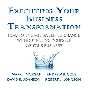 Executing Your Business Transformation: How to Engage Sweeping Change Without Killing Yourself Or Your Business Audiobook