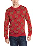 Alex Stevens Mens Reindeer Herd Ugly Christmas Sweater