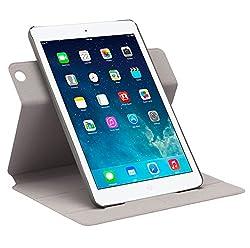 Neopack 360 Deg Rotation Smart Case for iPad Mini, Retina Mini & iPad Air (White)