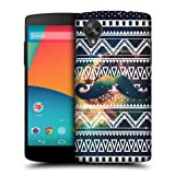 Head Case Moustache Nebula Tribal Patterns Back Case For Lg Google Nexus 5 D821