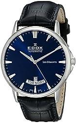 Edox Men's 83015 3 BUIN Les Bemonts Analog Display Swiss Automatic Blue Watch