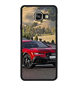 Vizagbeats Red Audi Car Back Case Cover For Samsung Galaxy A7 2016 Edition