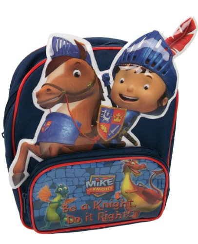 mike-the-knight-galahad-the-horse-sparkie-and-squirt-the-dragons-school-backpack-rucksack-3d-picture