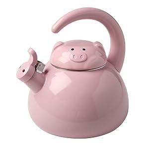 Pig Metal Teapot