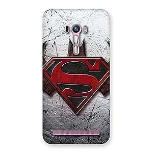 Ajay Enterprises Super vs Awesome Bat Back Case Cover for Zenfone Selfie