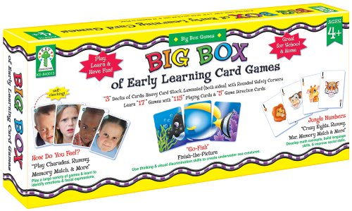 Key Education Publishing Big Box of Early Learning Card Games - 1