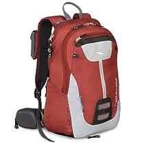 High Sierra Seeker Frame Backpack, Pomodoro/Ash/Black