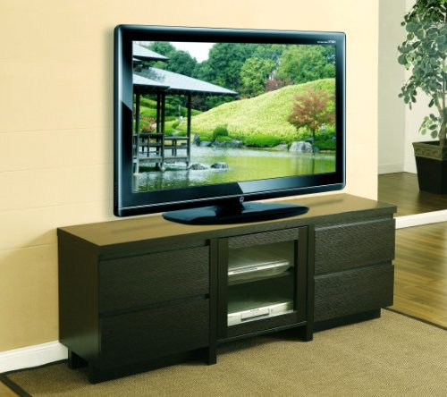 Image of Enitial Lab Lawrence 60-Inch Tv Cabinet with Drawer, Dark Espresso (B008XEW5EY)