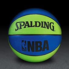 NBA Mini Basketball - Blue/Green