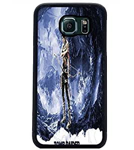 PrintDhaba Warrior D-3863 Back Case Cover for SAMSUNG GALAXY S6 EDGE (Multi-Coloured)