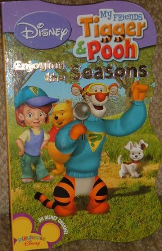 Disney My Friends Tigger and Pooh Enjoying the Seasons Board Book - 1