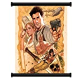 Uncharted 3 Drake's Deception Game Fabric Wall Scroll Poster (16