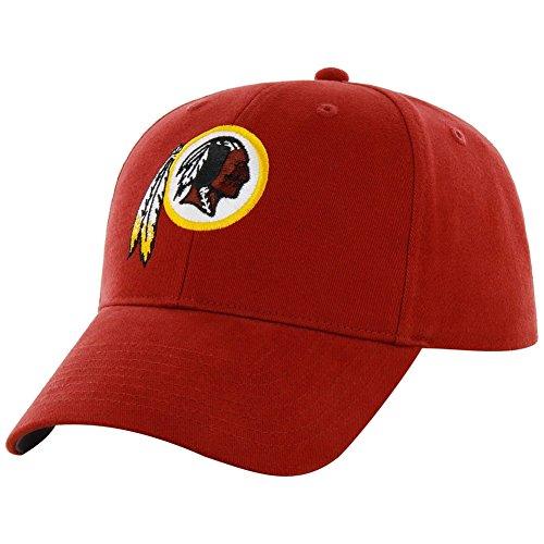 Nfl Washington Redskins Kid'S '47 Brand Basic Mvp Adjustable Hat, Razor Red